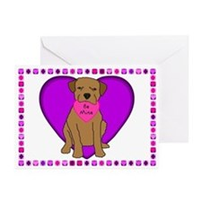Border Terrier Valentines (Pk of 10)