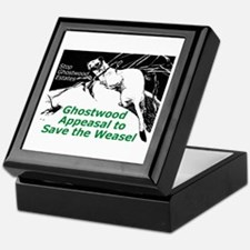 """""""Ghostwood Appeasal to Save the Weasel"""" Tile Box"""
