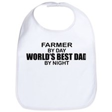 World's Best Dad - Farmer Bib