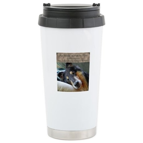 Perfect Relationship Stainless Steel Travel Mug