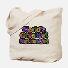 Worlds Greatest Nathanael Tote Bag