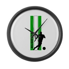 ALGERIA SOCCER Large Wall Clock