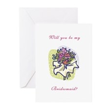 Will You Be My Bridesmaid Cards (Pk of 10)