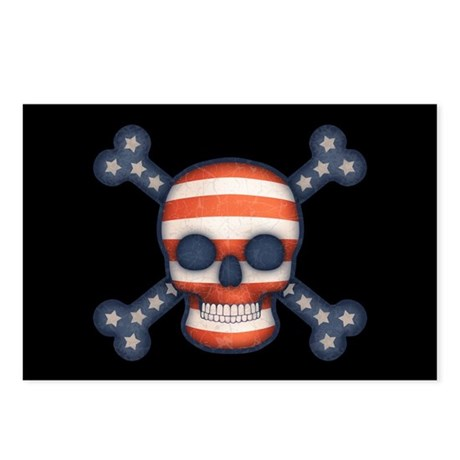 Pirate Patriot Postcards (Package of 8)