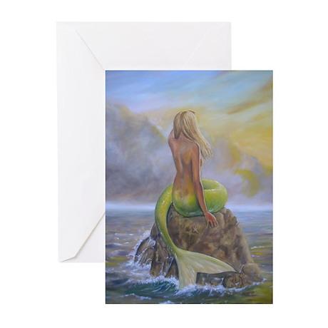 Mermaid Greeting Cards (Pk of 10)