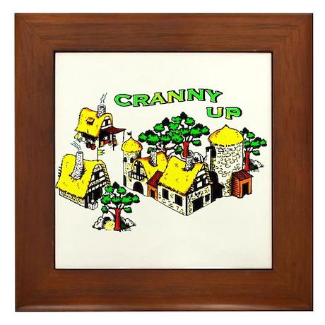 Cranny Up ! Framed Tile