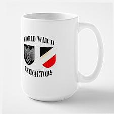 WWII German Reenactor Large Mug