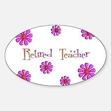 Retired Teacher II Decal