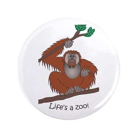 "Orangutan 3.5"" Button"