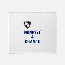 Mindset 4 Change Throw Blanket