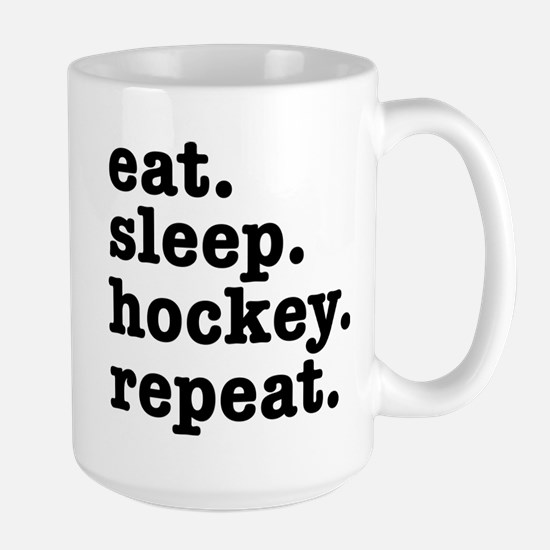 EAT. SLEEP. HOCKEY. REPEA Mug