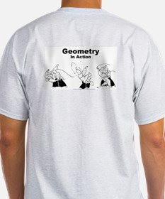 WOA - Geometry T-Shirt Ash Grey T-Shirt