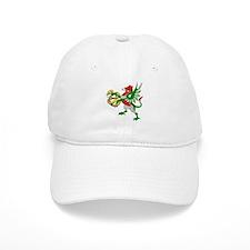 Fantasy dragon with serpent Baseball Cap