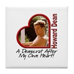 Young Howard Dean Tile Coaster