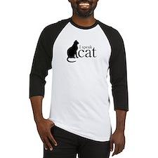 I Speak Cat Baseball Jersey