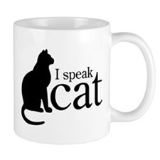 I Speak Cat Mug