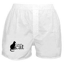 I Speak Cat Boxer Shorts
