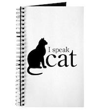 I Speak Cat Journal