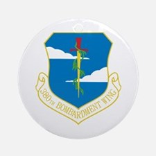 380th Bomb Wing Ornament (Round)