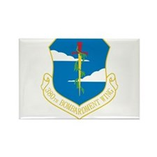 380th Bomb Wing Rectangle Magnet