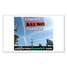 Chemtrails Decal