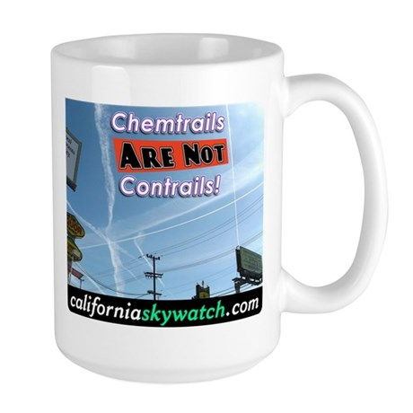 Chemtrails Large Mug