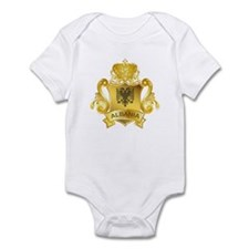 Gold Albania Infant Bodysuit