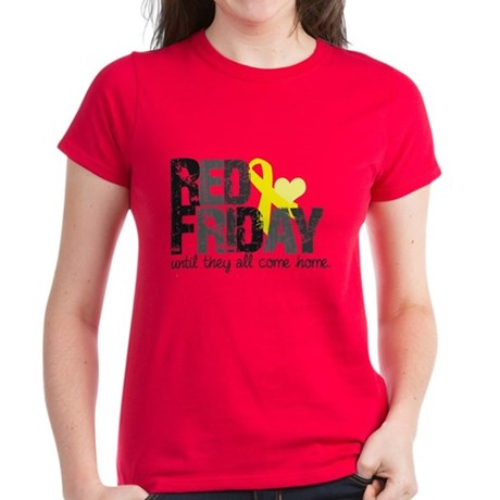Red Shirt Women's Dark T-Shirt