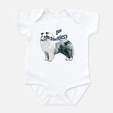 Blue Merle Shelty Infant Bodysuit