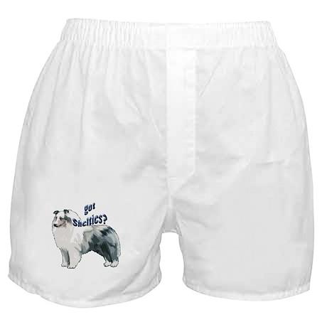 Blue Merle Shelty Boxer Shorts