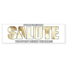Salute The Movie Bumper Sticker