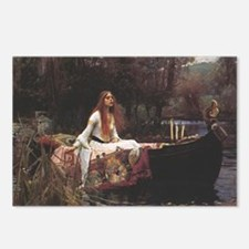Lady of Shallot Postcards (Package of 8)