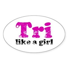 tri_likeagirl_sticker Decal