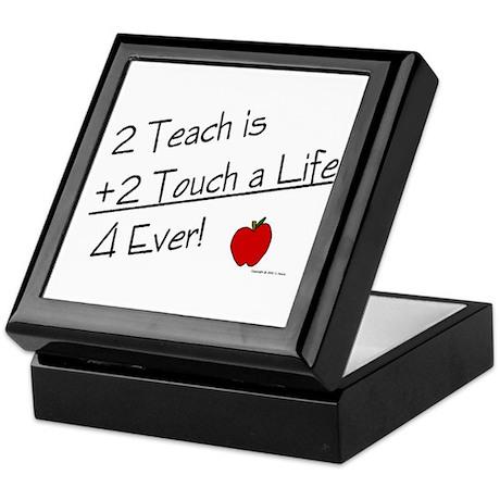2 Teach...4 Ever Keepsake Box