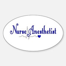 Nurse Anesthetist Decal
