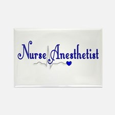 Nurse Anesthetist Rectangle Magnet