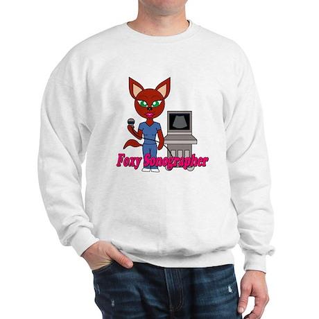 """""""Foxy Sonographer"""" Sweatshirt"""
