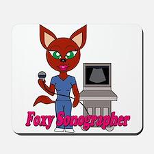 """Foxy Sonographer"" Mousepad"