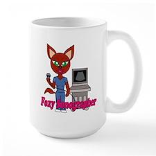 """Foxy Sonographer"" Mug"