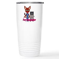 """Foxy Sonographer"" Travel Mug"