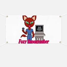 """Foxy Sonographer"" Banner"