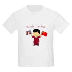 Worth the Wait China Adoption T-Shirt