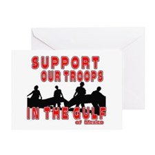 Support Our Troops in the Gul Greeting Card