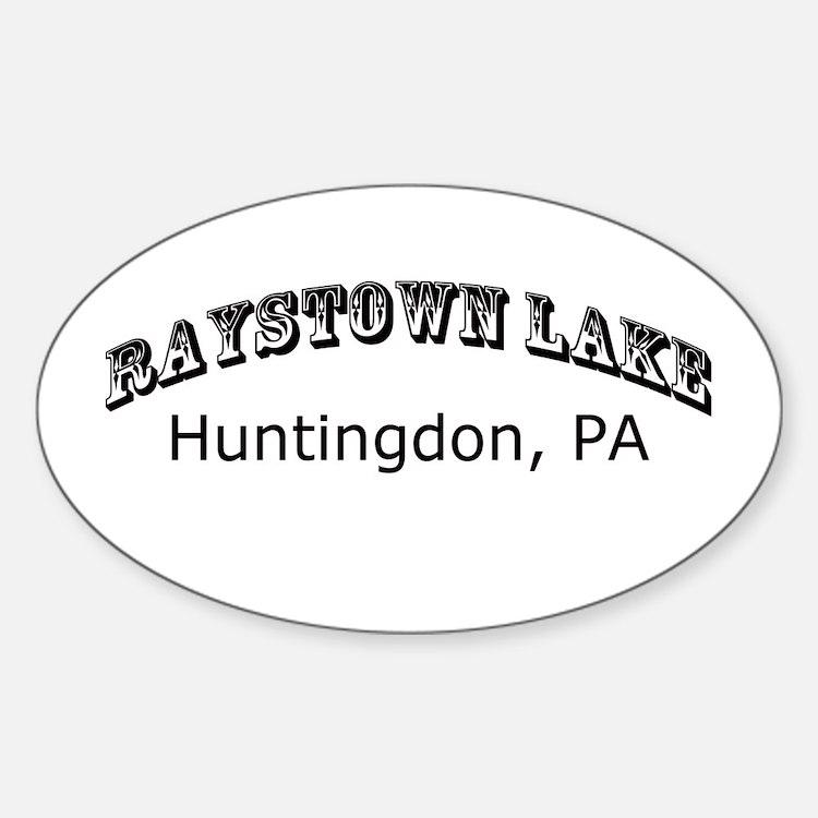 Raystown lake Sticker (Oval)