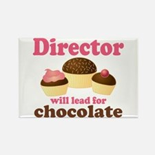 Music Director Chocolate Rectangle Magnet