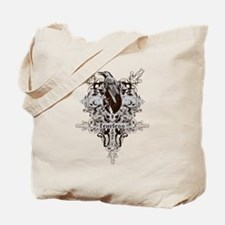 Fearless Raven Tote Bag