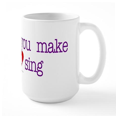 Wildfong, heart sing Large Mug