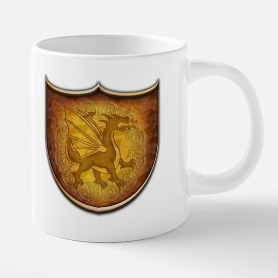 Copper Dragon Shield 20 oz Ceramic Mega Mug