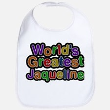 Worlds Greatest Jaqueline Baby Bib