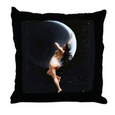 Lunatic For Love Throw Pillow